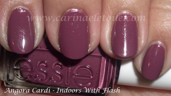 Essie Angora Cardi Indoors With Flash