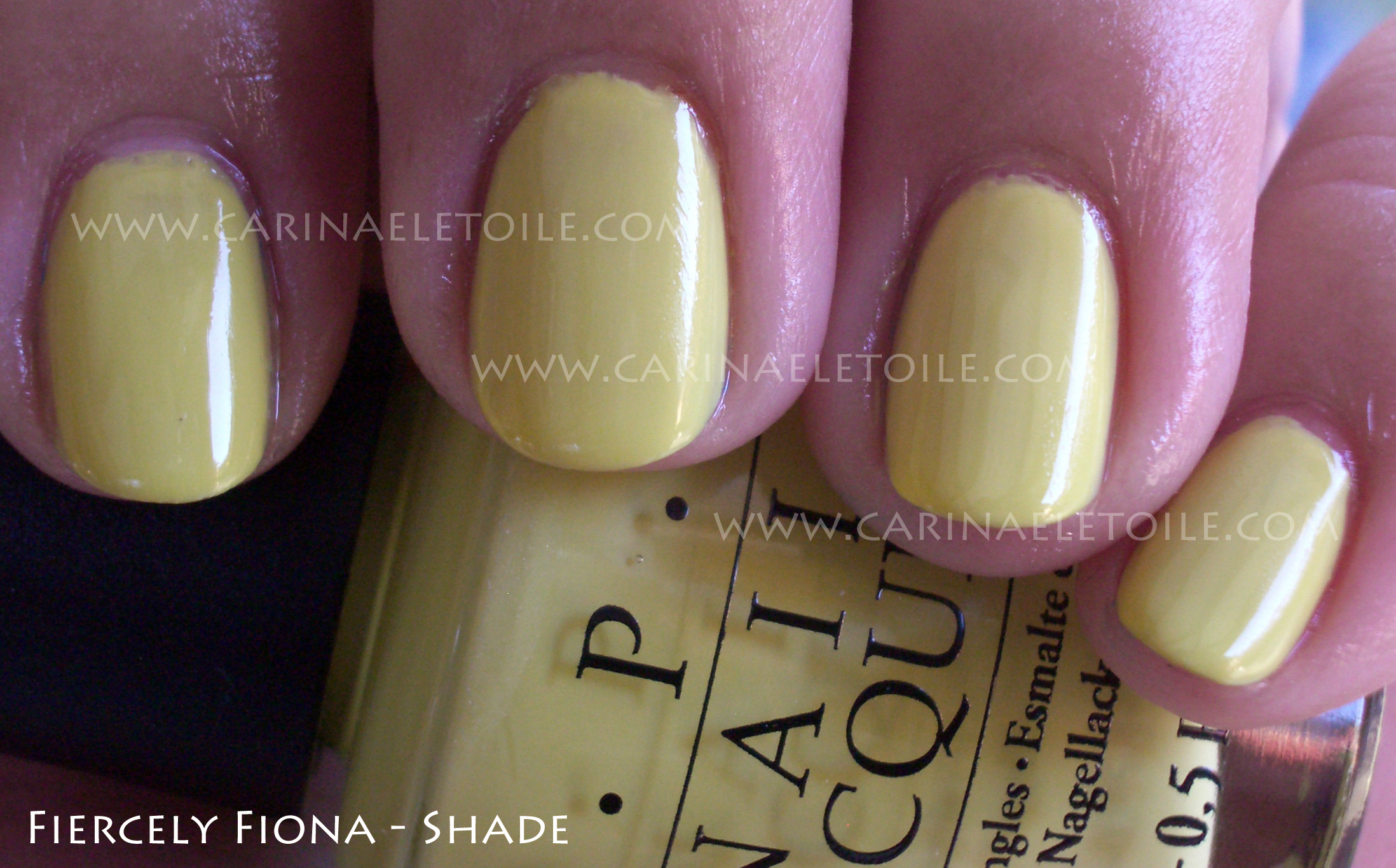 OPI Fiercely Fiona Shade