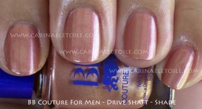 BB Couture For Men Drive Shaft Shade