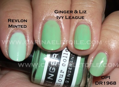 Revlon G&L OPI Minted Ivy League Damone Roberts 1968 In Flash