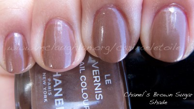 Chanel Brown Sugar Shade