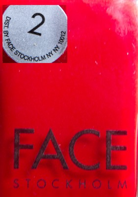 Face Stockholm #2 Label