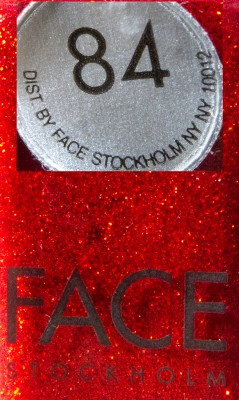 Face Stockholm 84 Label