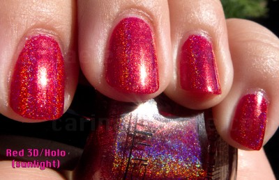 GG Red Holo Sunlight