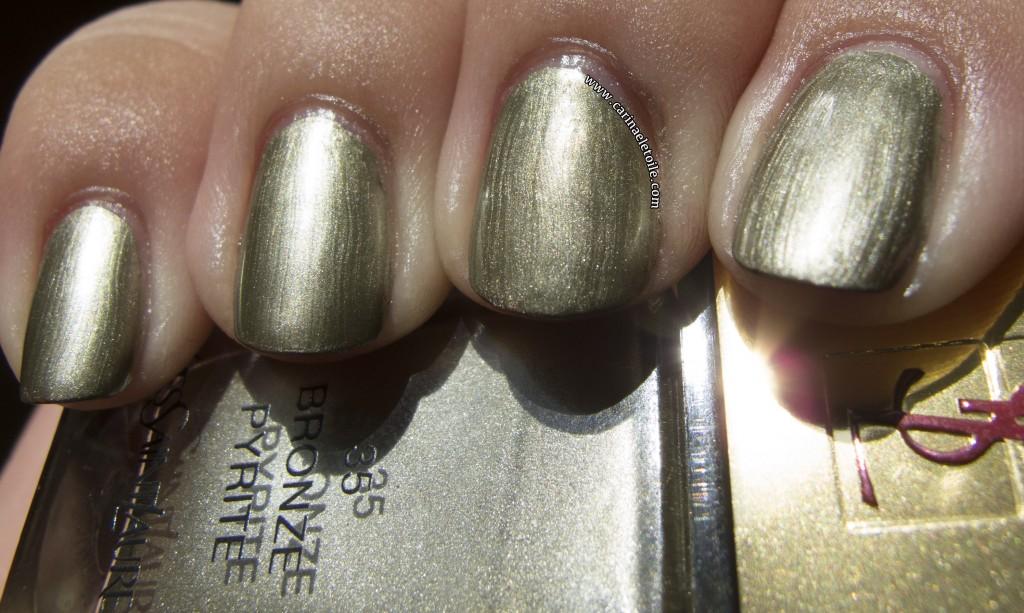 YSL Bronze Pyrite